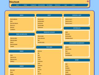 kleurboek.allepaginas.nl screenshot