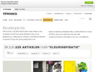kleurinspiratie.nl screenshot
