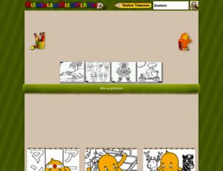 kleurplaatkleurplaten.nl screenshot
