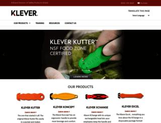 kleverinnovations.net screenshot