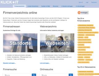 klick-it.de screenshot