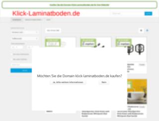 klick-laminatboden.de screenshot