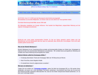 klick4u.de screenshot