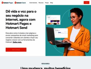 klickpages.com.br screenshot
