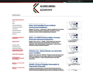 klik.gov.hu screenshot