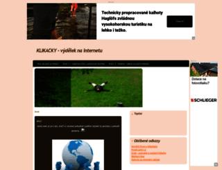 klikam.estranky.cz screenshot