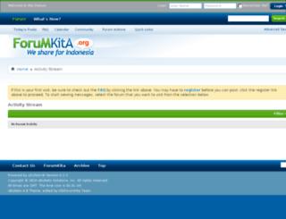 klikforumkita.com screenshot