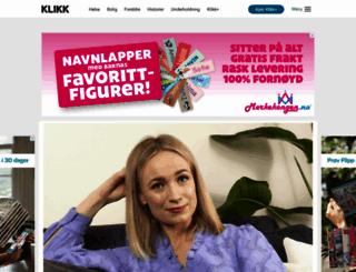 klikk.no screenshot