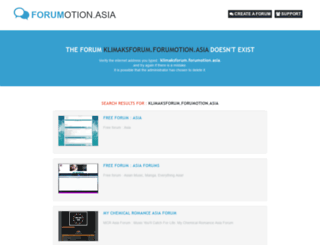klimaksforum.forumotion.asia screenshot