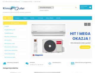 klimaoutlet.pl screenshot