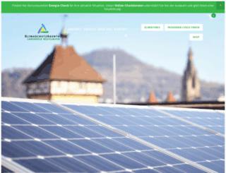 klimaschutzagentur-rt.de screenshot