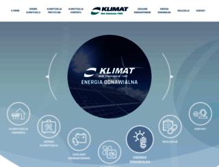 klimat.pl screenshot