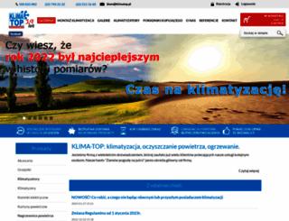 klimatop.pl screenshot