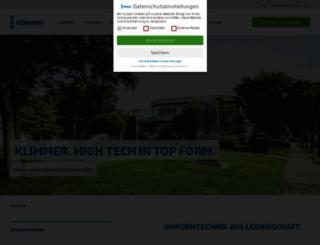 klimmer-gmbh.de screenshot