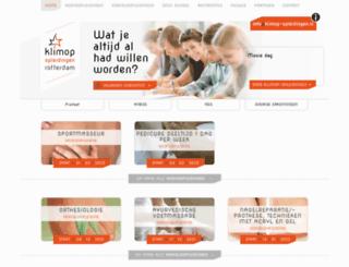 klimop-opleidingen.nl screenshot