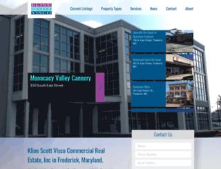klinescottvisco.com screenshot