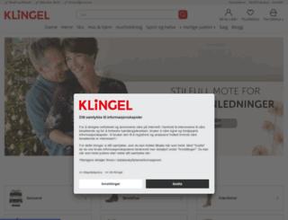klingel.no screenshot