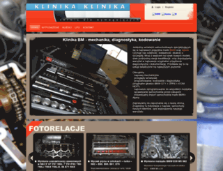 klinika-bmw.pl screenshot