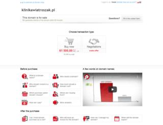 klinikawiatroszak.pl screenshot