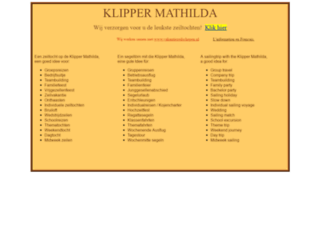 klippermathilda.nl screenshot