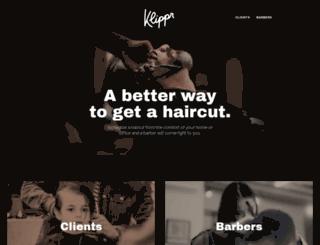 klippr.com screenshot