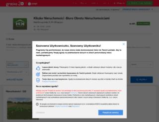 kliszko-nieruchomosci.gratka.pl screenshot