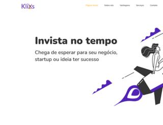 klixs.com.br screenshot