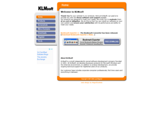 klmsoft.com screenshot