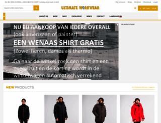 klmworkwear.nl screenshot