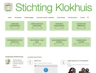 klokhuis.nl screenshot