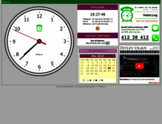 klokka.no screenshot