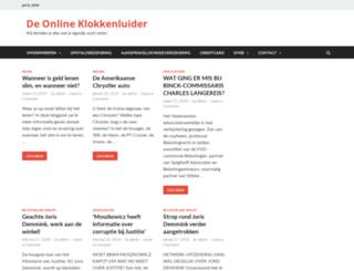 klokkenluideronline.nl screenshot