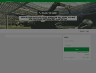 klosterbrueder.ligahero.de screenshot