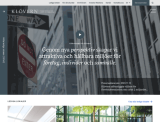 klovern.se screenshot