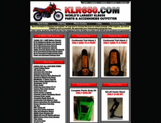 klr650.com screenshot