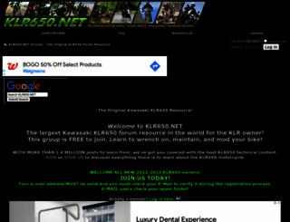 klr650.net screenshot