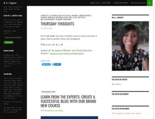 klregister.wordpress.com screenshot