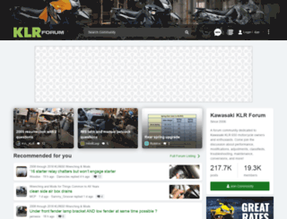 klrforum.com screenshot