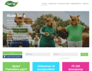 klubb.serla.no screenshot