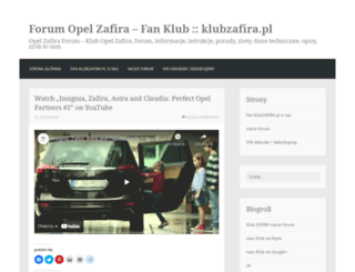 klubzafira.wordpres.com screenshot