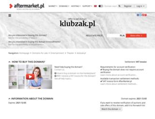 klubzak.pl screenshot