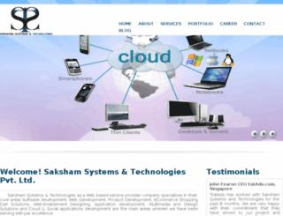kluje.sakshamsystems.com screenshot