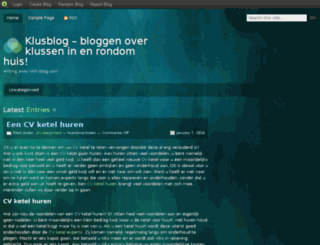 klusblog.blog.com screenshot