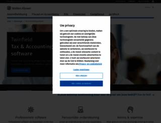kluwerbelastingpraktijk.nl screenshot