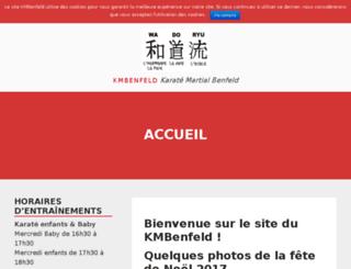 kmbenfeld.com screenshot