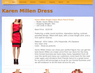 kmdressonline.webs.com screenshot