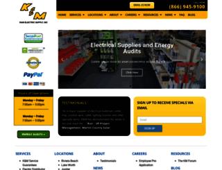 kmelectric.com screenshot