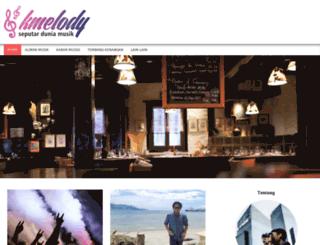 kmelody.net screenshot