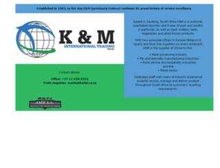 kmint.co.za screenshot