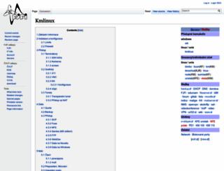 kmlinux.fjfi.cvut.cz screenshot